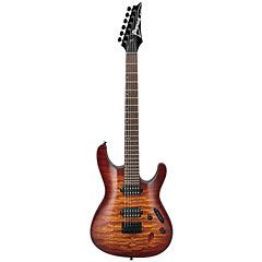 Ibanez S621QM-DEB « Electric Guitar
