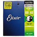 Elixir Optiweb Custom Light 009-046 « Electric Guitar Strings