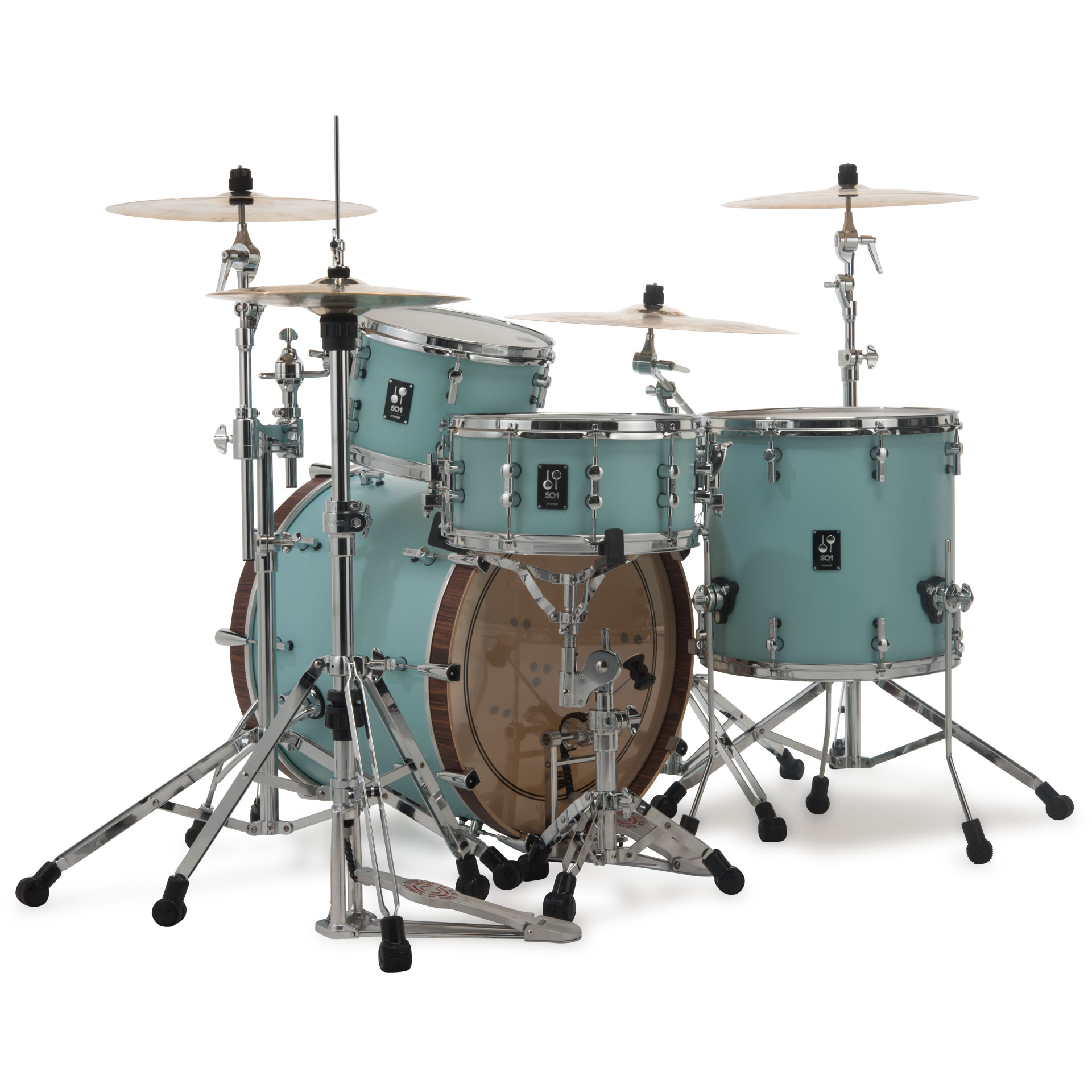 Sonor Sq1 24 Quot 13 Quot 16 Quot Cruiser Blue 171 Drum Kit