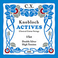 Knobloch Strings Double Silver Carbon 400KAC HT « Classical Guitar Strings
