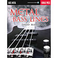 Instructional Book Hal Leonard Metal Bass Lines