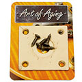Crazyparts Art of Aging '50s Jackplate, Ivory « Input-Jack Plate