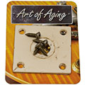 Crazyparts Art of Aging '50s Jackplate, Bone White « Input-Jack Plate