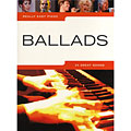 Music Sales Really Easy Piano - Ballads « Notböcker
