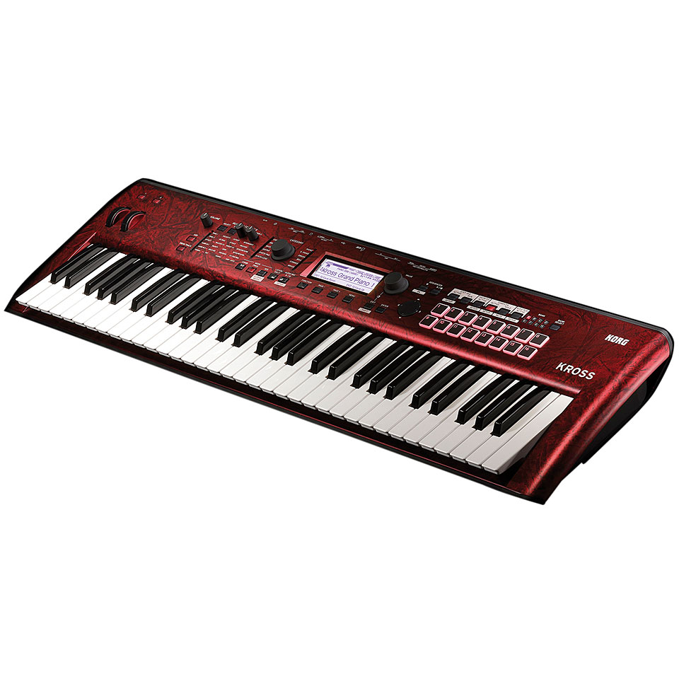 Korg Kross 2 61 Rdm Limited Edition 171 Synthesizer