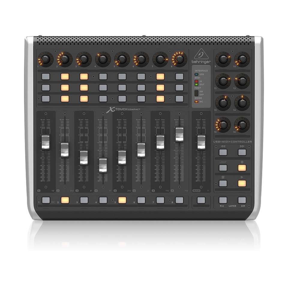 behringer x touch compact midi controller. Black Bedroom Furniture Sets. Home Design Ideas
