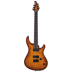 Mayones Regius Core Classic 6 Trans Amber Burst Gloss AAAA « Electric Guitar