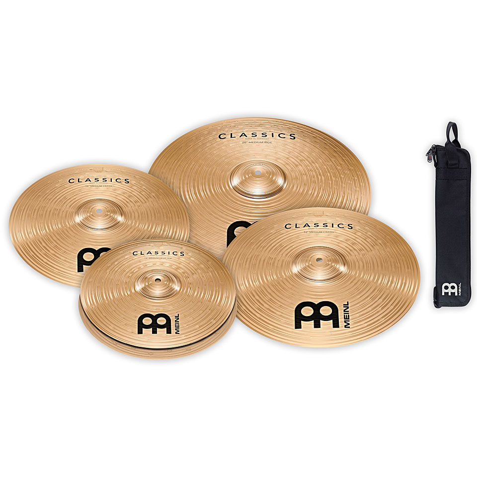meinl classics complete cymbal set cymbal set. Black Bedroom Furniture Sets. Home Design Ideas