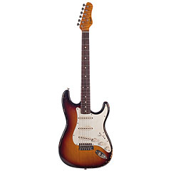Haar Traditional S aged 3-Tone-Sunburst, RW « Electric Guitar