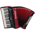 Hohner Bravo III 72 Red silent key « Piano Accordion