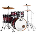 "Pearl Decade Maple 22"" Gloss Deep Red Burst Drumset « Set di batterie"