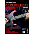 Tunesday E-Gitarre Training - 50 Blues Licks (+DVD) « Instructional Book