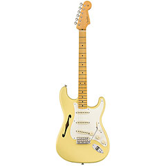 Fender Eric Johnson Thinline Stratocaster, Vintage White « Electric Guitar