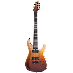 Schecter SLS Elite C-7, Antique Fade Burst « Electric Guitar