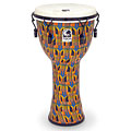 "Toca Percussion Freestyle Mechanically Tuned Djembe 12"" Kente Cloth « Djembe"