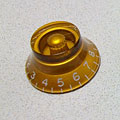 GuitarSlinger LP Bell Knob, Gold « Pot Knob