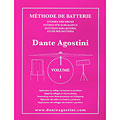 Instructional Book Agostini Methode de Batterie Vol.1 - Solfege Batterie