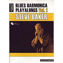 Artist Ahead Blues Harmonica Playalongs Vol.1