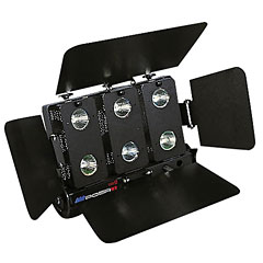 Showtec Compact Floodlight 6-Way Black