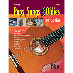 Dux Pops, Songs & Oldies for Guitar Bd.2