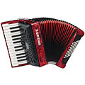 Hohner Bravo II 48 Red silent key « Piano Accordion