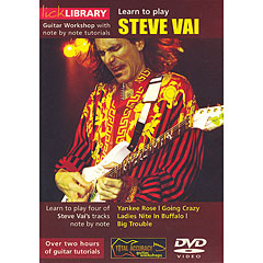 Roadrock Lick Library Learn to Play Steve Vai