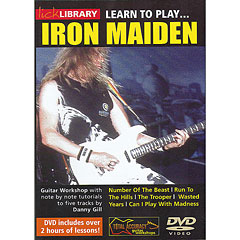 Roadrock Lick Library Learn to Play Iron Maiden