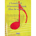 Musical Theory Hage Notenblock Manuscript Paper