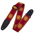 Levy's MPJG-SUN-RED « Guitar Strap