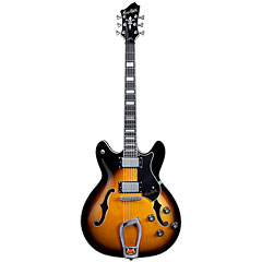 Hagstrom Viking Tobacco Sunburst « Electric Guitar