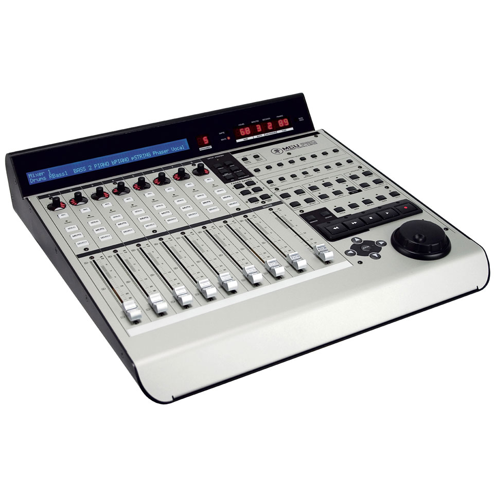 Mackie control universal pro midi controller for Daw control surface motorized faders