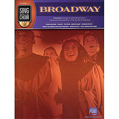 Hal Leonard Sing with the Choir Vol.2 - Broadway