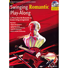 Schott Swinging Romantic for Violin
