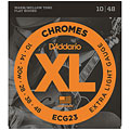 D'Addario ECG23 Chromes .010-048 « Electric Guitar Strings