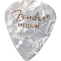 Pick Fender 351 White Moto, thin (12 Stk.)