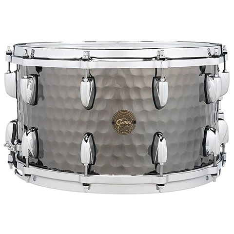 Gretsch Full Range 14  x 8  Hammered Black Steel Sn